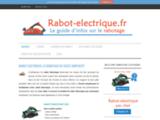 Rabot electrique: le guide d'achat pour bien choisir