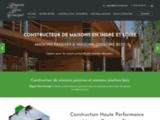 Construction de Maison en Bois en Indre-et-Loire (37)