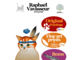 cat, cats, art, painting, paintings, feline art, graphic design, illustration, graphics, painter, artist, raphael vavasseur, original, new, animal, drawing, catart, pet, artwork, katze, gato, gatto, kot, kedi, picture, peinture, artistepeintre, canvas, acrylic Painting, chats, felineart, kat