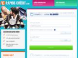 Crédit en ligne  avec le site Rapide crédit