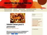 Recette de cuisine salades