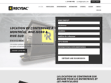 Location conteneur container, Montréal, Laval, Chambly, Longueuil, Rive nord, Rive sud