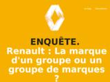 RENAULT: la  marque d'un groupe ou un groupe de marques