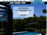 Abri piscine Rénoval : fabricant d'abris de piscine et de véranda sur mesure