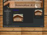 Charpente - Rénovation JCJ Savoie