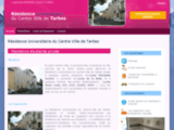 Résidence Universitaire Tarbes, logement étudiant, résidence étudiante, logements meuble