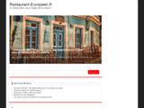 Restaurant L'Européenà Saint-Etienne, face au parking du Zénith (Loire, Forez, 42)