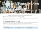 Restaurant paris, diner montparnasse, terrasse été, entrée des artistes