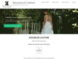 Robes de cocktail Aix en Provence. Atelier de couture et de création de robes de soirée.