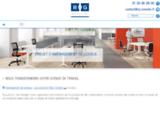 Aménagement d'espaces de travail et mobilier de bureau