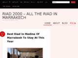 Riad2000 : riads marrakech