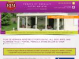 Spécialisé dans la pose de vérandas ou de fermetures d'habitation   RIM AlU PVC