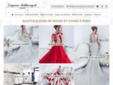 Magasin Robe de mariée et robes de soirée à Paris
