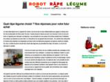 Robot râpe légume : guide d'achat, tests et avis pour bien choisir