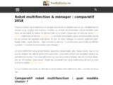 Robot multifonction & ménager : comparatif 2017 pour bien choisir