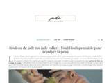 Rouleau de jade : l'outil de massage pour le visage