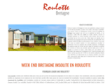 Roulotte bretagne : location roulotte pour un week end en Bretagne