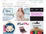 Rue du fil : fils et accessoires  couture  et  broderie  à  prix semi-gros
