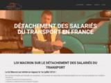 Salarié transport : Détachement et obligations loi Macron Juillet 2016