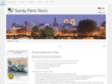 Private guided tours in France with Sandy Tours - Home