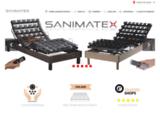 Literie électrique de relaxation SANIMATEX matelas ? m?moire de forme