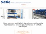 Châssis d'armoire électrique par clipsage – Satie