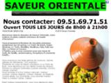 Saveur Orientale, traiteur Arcachon, La Teste-de-Buch, Gujan-mestras, Le Teich.