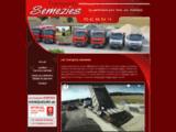 Transports Sémézies - Location de camions benne - Gers 32