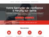 Votre Serrurier à Neuilly sur Seine - Ouverture de porte -Remplacement serrure