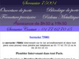 Serrurier 75001 : 01 77 62 70 15 : Artisan Pas Cher Serrurier 75001