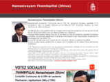 Shiva Thambipillai, candidat PS - Vaud (Suisse)