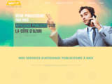 Affichage taxis Nice