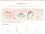 Bouton de manchette argent - Bouton de manchette - Silver in Paris Achat Bijoux en Argent et Pierres