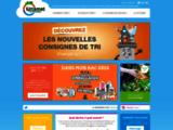 Sittomat - Action durable - Unis pour le tri -  recyclage - tri selectif - traitement des déchets-  recyclage - tri selectif - traitement des déchets