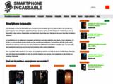Smartphone incassable antichoc