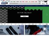 Boutique en ligne, vente de matériel de ski et snowboard