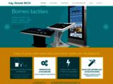 My Social Box : vente et location de bornes interactives et tactiles