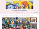 soisem, exposition, illustration, contes, couleurs, smoulinette@gmail.com, décoration, peinture, Paris, édition,toile, tableaux,