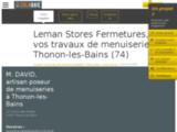 Léman Stores Menuiserie à Thonon
