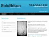 SoluBéton | Réparation de fissures