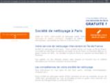 Société de nettoyage, Ile de France