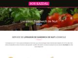 ?Sos Kazdal - Livraison sandwich de nuit Paris, 92, 93, 94, 95, 91