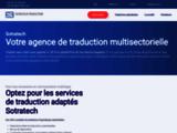 Sotratech : Société de traduction en France - Agence multilingue, traductions spécialisées, devis en ligne...