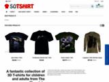 T-shirts, Sweat Shirts, robes, débardeurs The Mountain 3D enfant