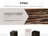 S'Pack produits boites recouvertes pour la cosmetique et emballage en carton