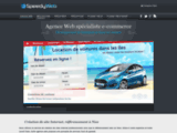 Creation de site Internet et referencement - SpeedyWeb - Perpignan - 66