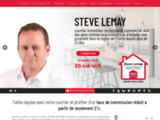 Steve Lemay, courtier immobilier à Sherbrooke