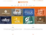 DEFACTO : Agence de communication