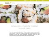 Sushi4you, atelier cours de cuisine sushi groupe et traiteur  à Paris