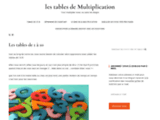 Tables de multiplication : lecons, methode et exercices